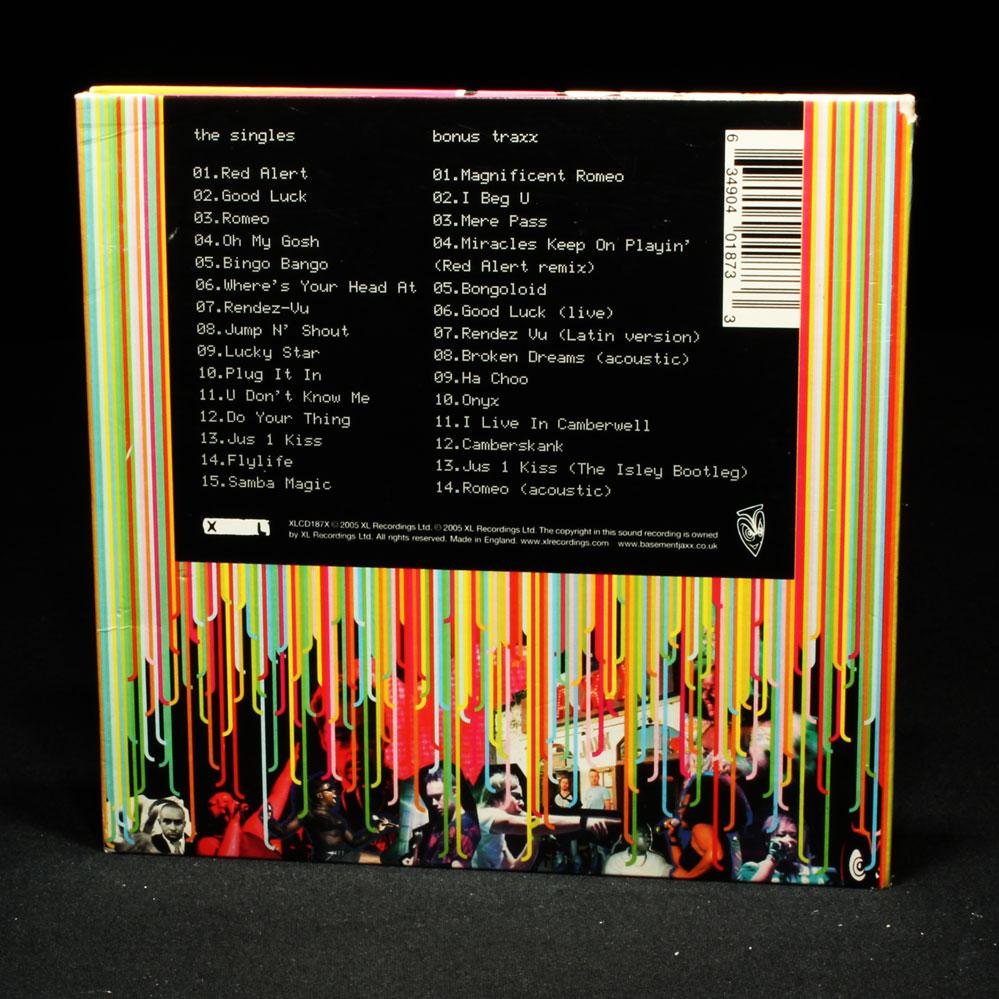 Basement Jaxx The Singles Special Edition Music Cd Album X - Basement jaxx good luck