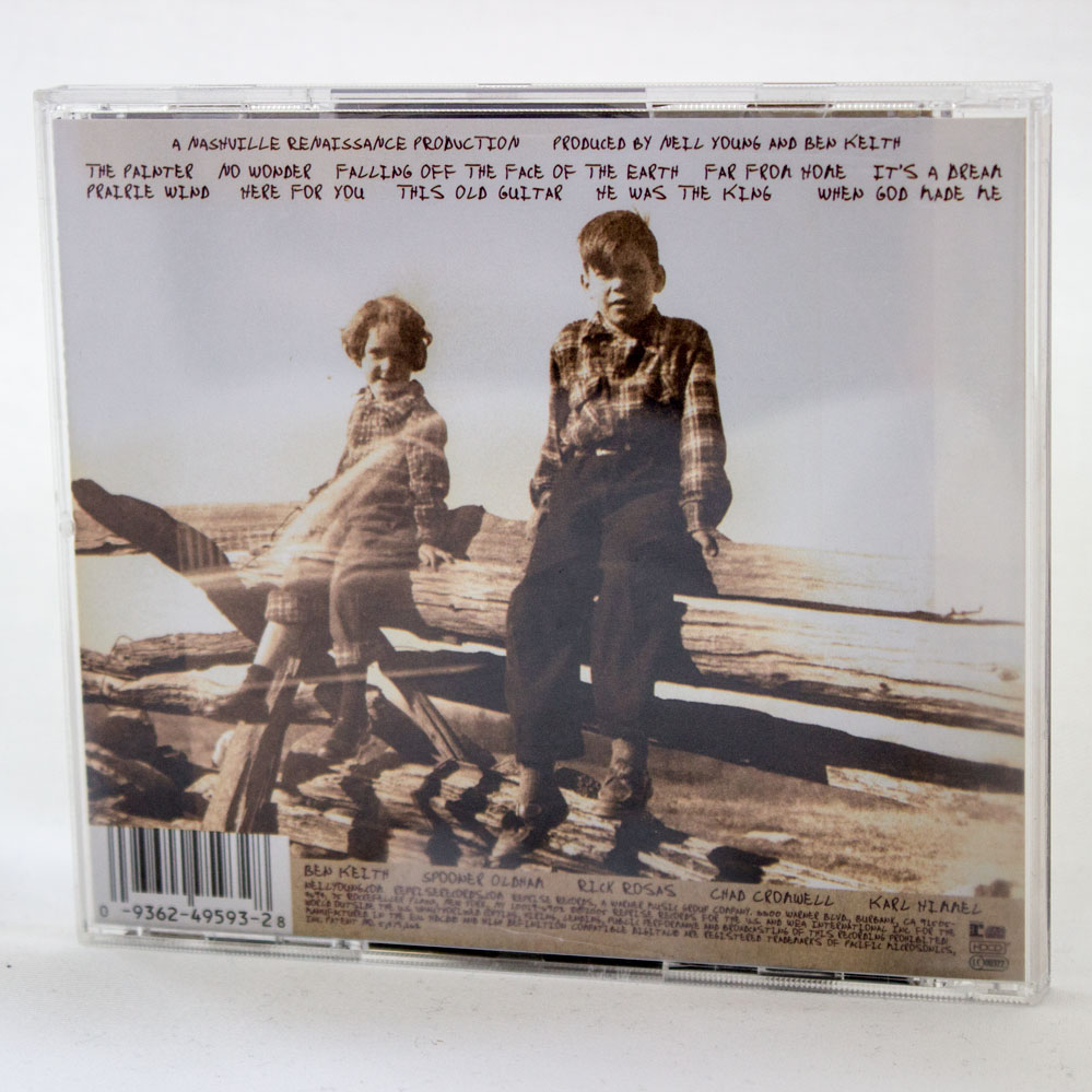 Neil Young - Prairie Wind - music cd album