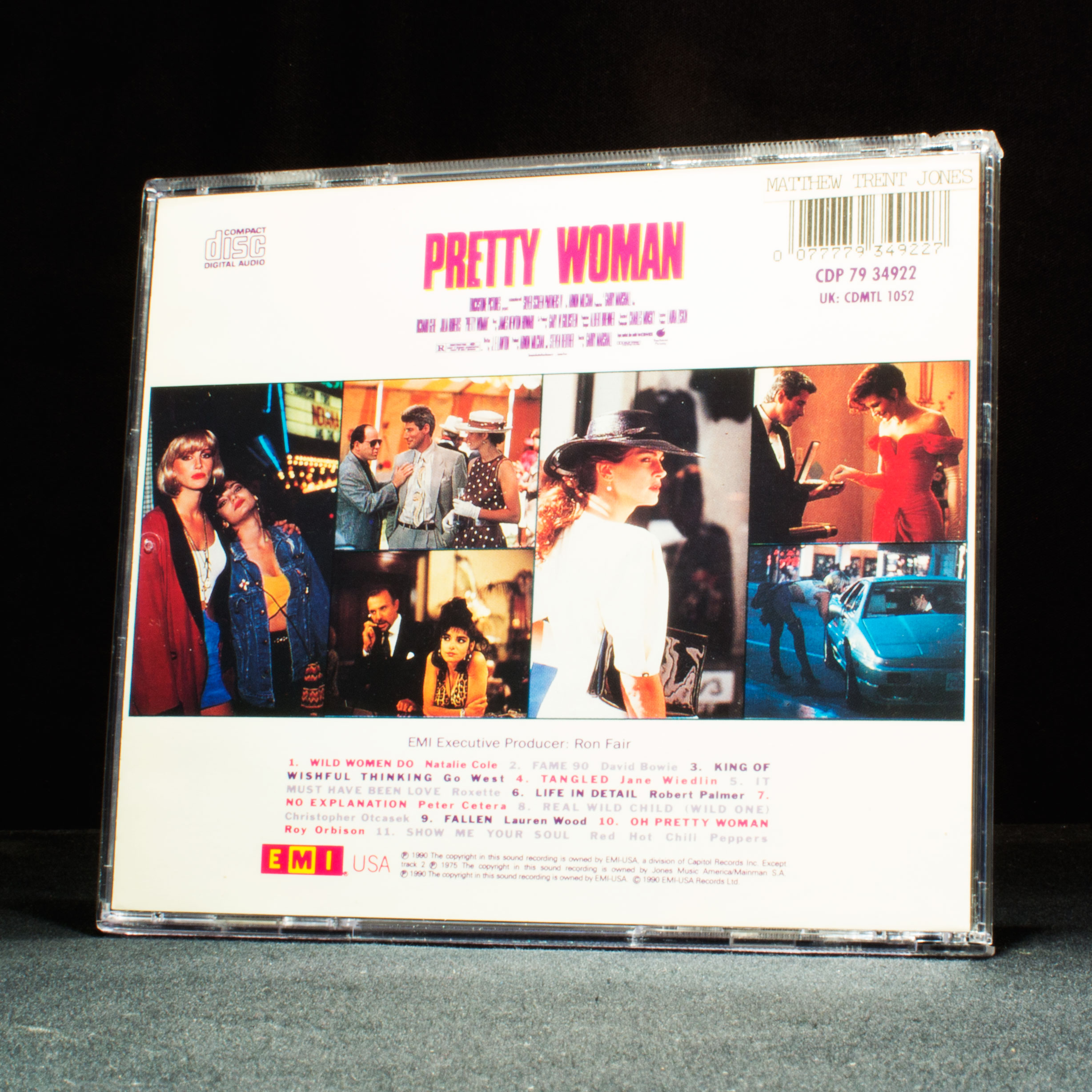 Pretty Woman Soundtrack 90