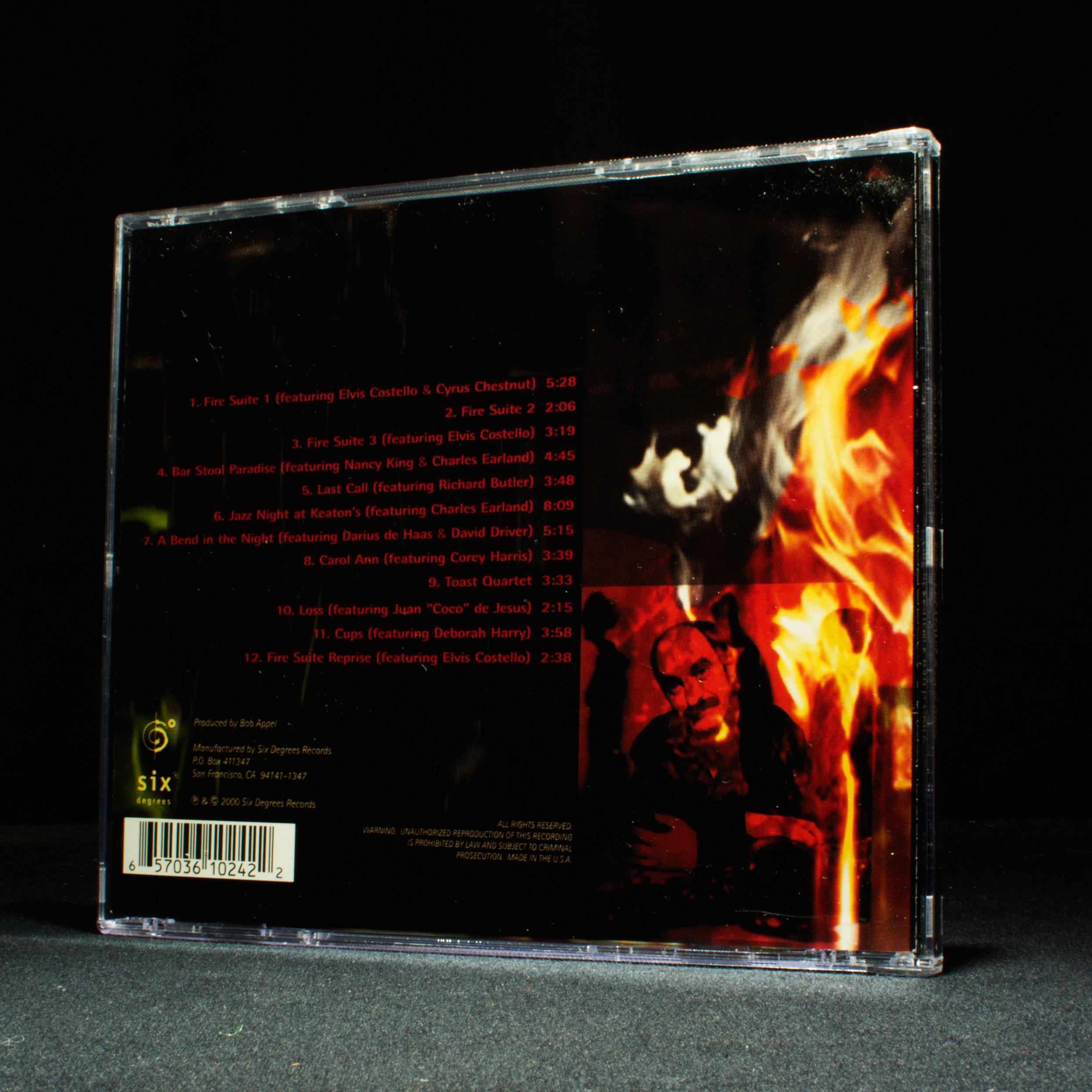 roy nathanson fire auf keaton 39 s verbindung und grill musik cd album ebay. Black Bedroom Furniture Sets. Home Design Ideas