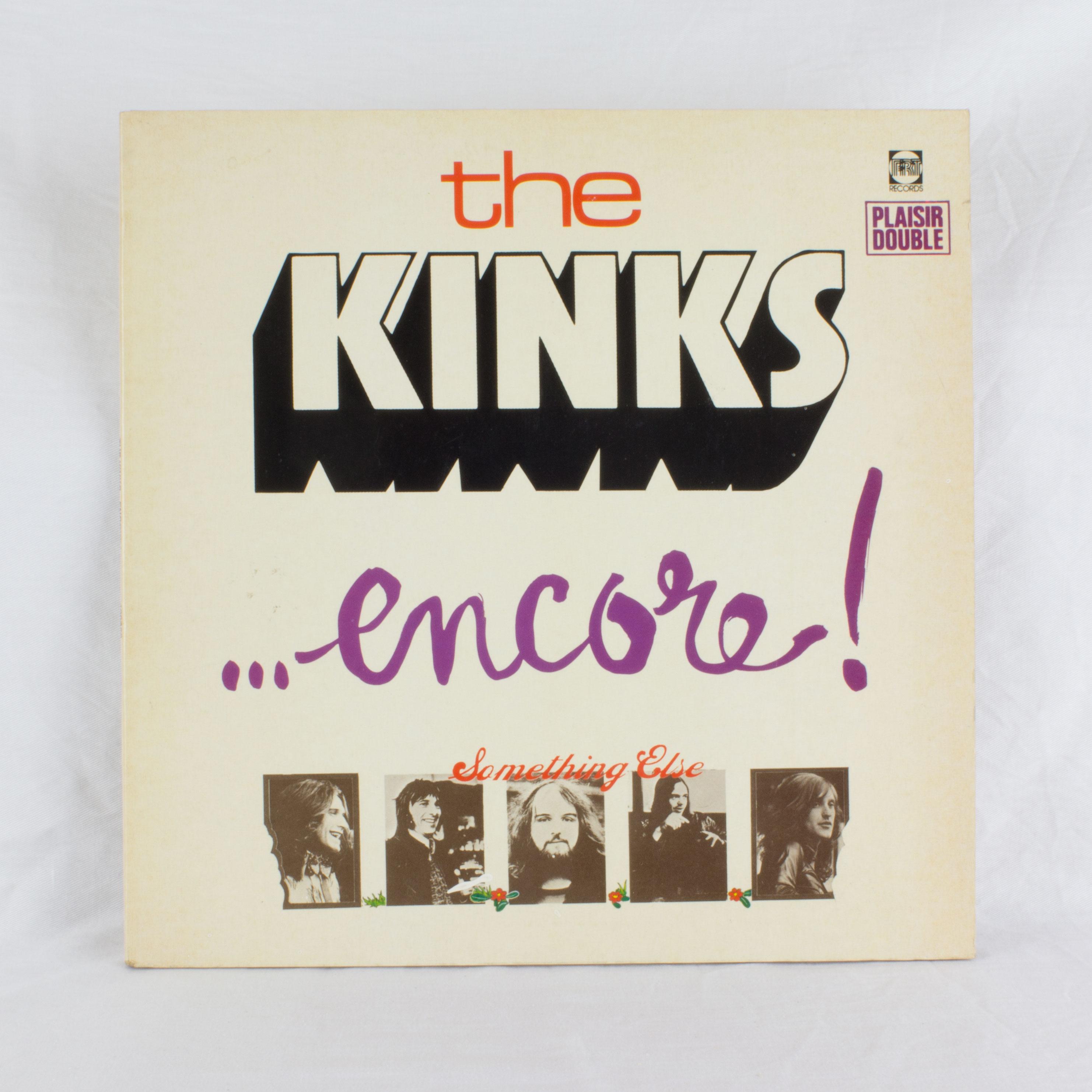 the kinks encore musique disque vinyle double album ebay. Black Bedroom Furniture Sets. Home Design Ideas