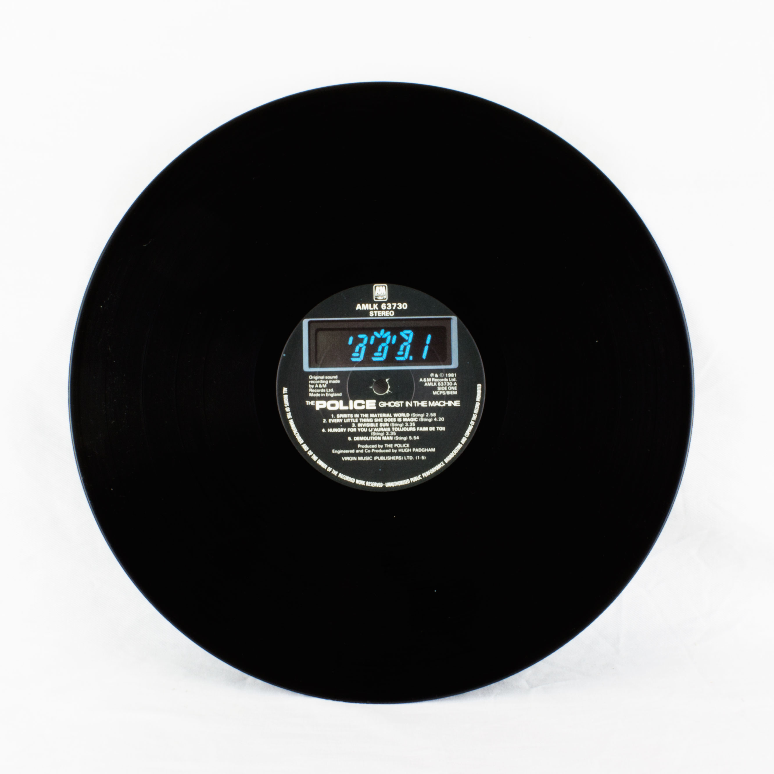the ghost in the machine vinyl